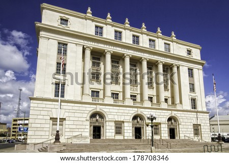 The Hipolito F. Garcia Federal Building and United States Courthouse is a historic courthouse, federal office, and post office building located in Downtown San Antonio in Bexar County in Texas, USA.