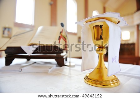 The holy grail - stock photo