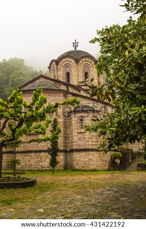 The Holy Patriarchal Monastery of Saint Dionysios of Olympus is the most important monastery in the prefecture of Pieria.