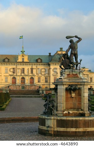 The home of the Swedish Royal Family. UNESCO World Heritage list.