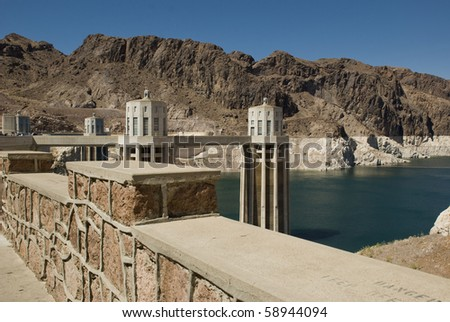 The Hoover Dam in Nevada