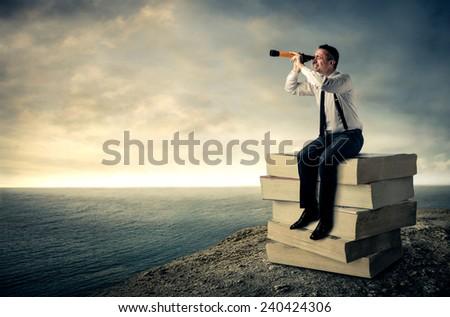 The horizon  - stock photo