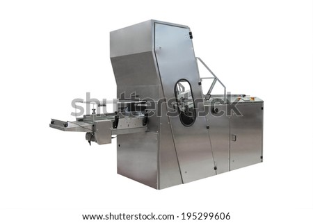 The image of a baking machine - stock photo