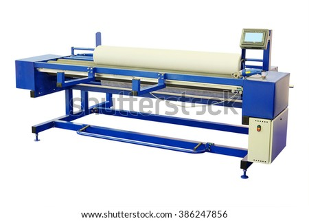 The image of a textile machine