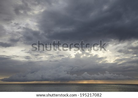 the image of cloudscape in the Philippines