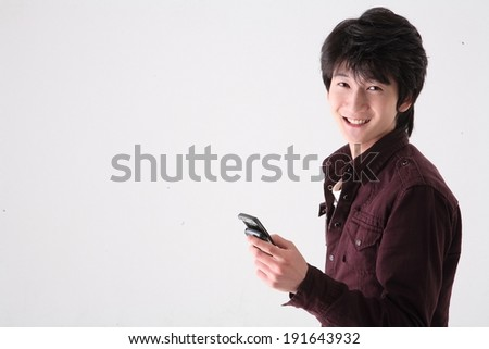 The image of high school student in Korea, Asia