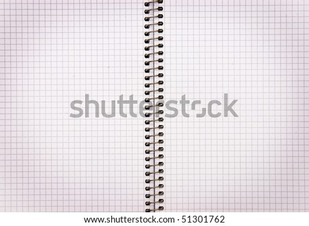 The image of notepad background