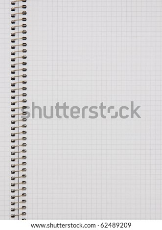 The image of notepad page background
