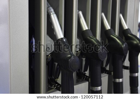 The image of petrol pump