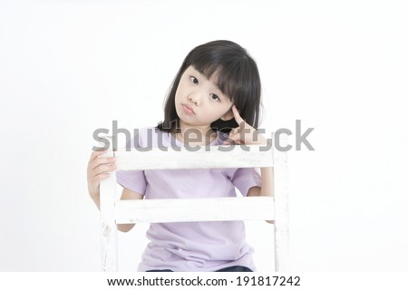 The image of smiling child in Korea,Asia