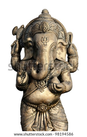 The Indian God Ganesha. - stock photo