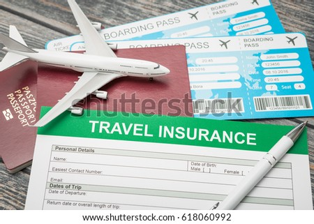 Travel agent ticket safe plan trip stock photo 515241838 shutterstock the insurance form is located on a desk with passports and air tickets small plane altavistaventures Choice Image