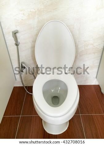 White Urinals Ceramic Mens Bathroom Stock Photo 581797435 Shutterstock