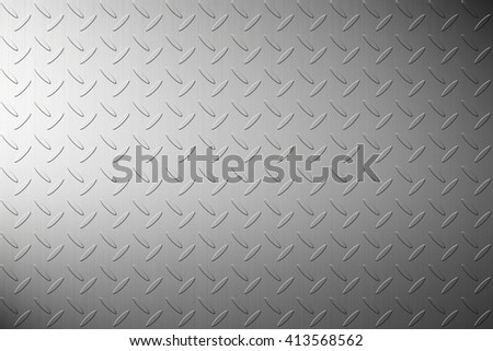 The iron steel metal diamond plate background