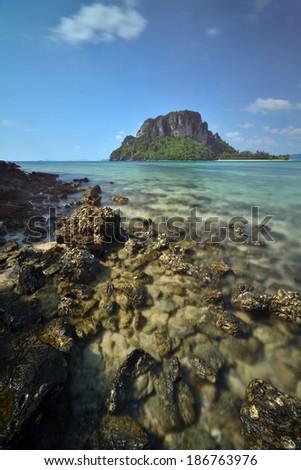 The island in Thailand beaches - stock photo