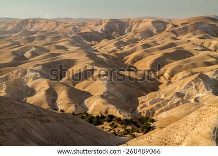 The Jude Desert, Israel - stock photo