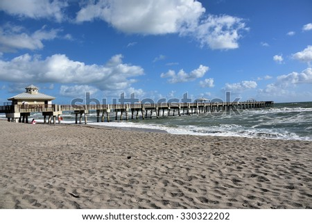 The Juno Beach Fishing Pier in Florida