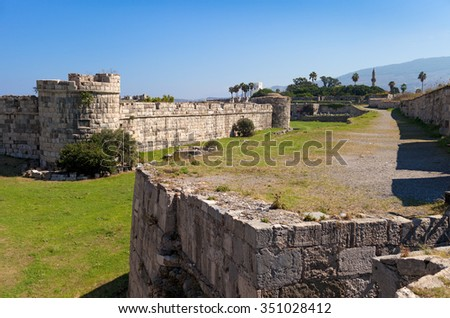 The Knight's Castle, Kos Town, Kos Island, Greece