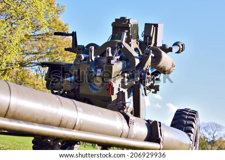 "The L118 or M119 light gun is a 105 mm towed howitzer. The proper name for it is ""Gun, 105mm, Field, L118""."