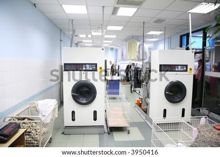 the laundry - stock photo