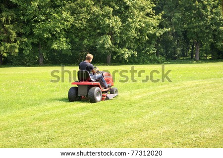 The lawn-mower