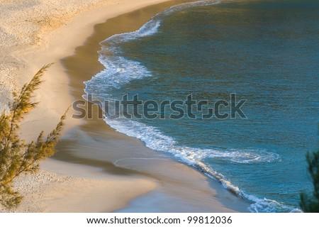 The Libanona beach of Fort Dauphin (Tolagnaro), southern Madagascar - stock photo