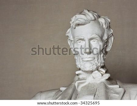 The Lincoln Memorial National Memorial in Washington DC. - stock photo