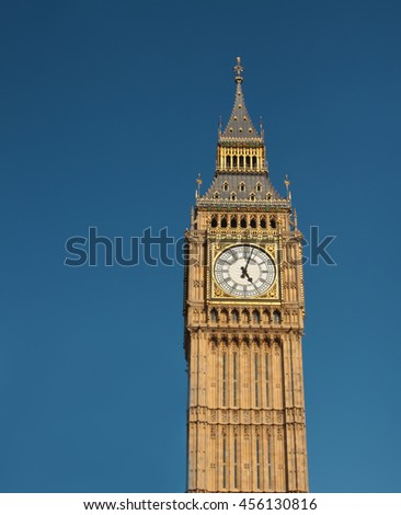 The London Big Ben in daylight