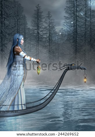 The long travel - stock photo