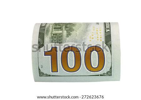 The macro european money in the bill - stock photo