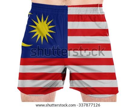 The Malaysia flag  - stock photo
