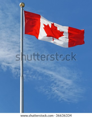 The Maple Leaf - Canada's national flag