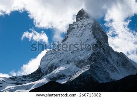 The Matterhorn - stock photo