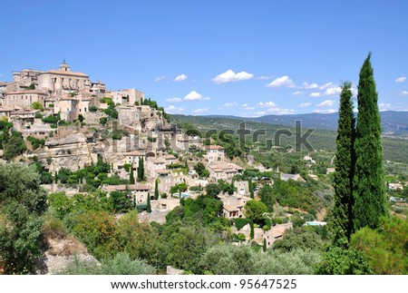 the medieval Village of Gordes,Provence,France