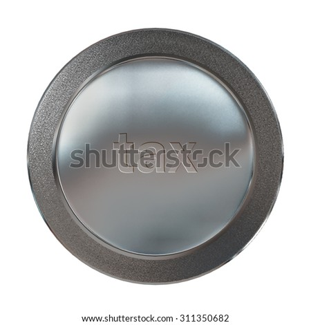 The metal of medal for finance concept - stock photo