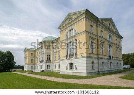 The Mezotne Palace - The Pearl of The Latvian Classicism