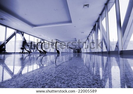 the modern business interior photo