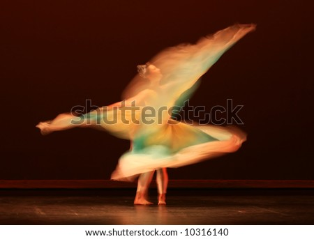Motion Photography Dance Dance in Slow Motion