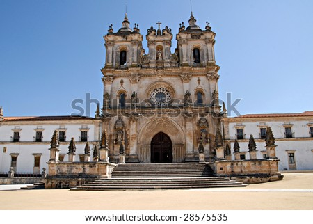 The Monastery of Alcobaca  is a medieval monastery in central Portugal.  Founded by the 1st Portuguese King, Afonso Henriques in 1153, it is a UNESCO World Heritage Site.
