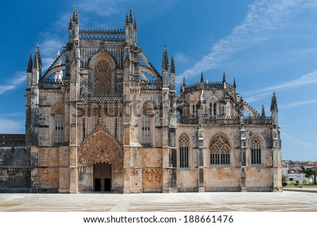 The Monastery of Batalha, a Dominican Convent