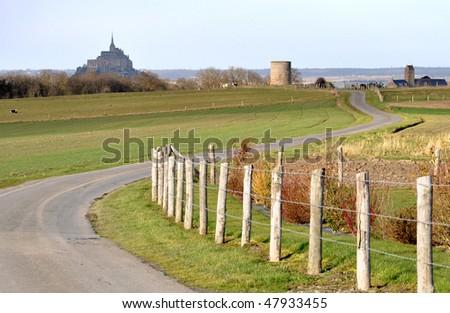 The Mont Saint Michel - stock photo
