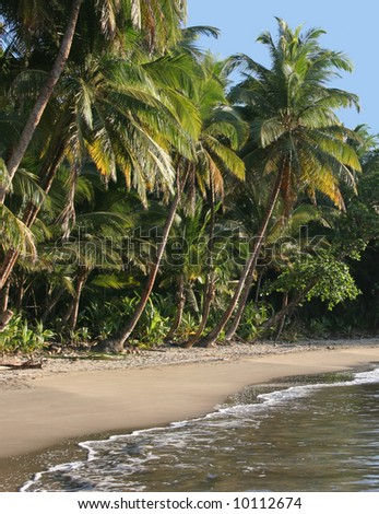 the most beautiful beach in Dominica, Batibou beach
