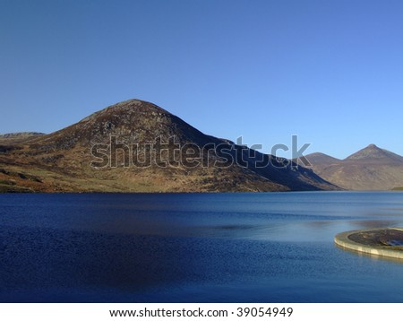 The Mountains of Mourne Northern Ireland - stock photo