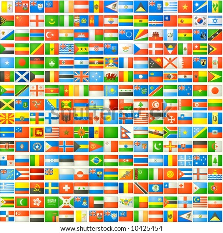 the national flags background - stock photo