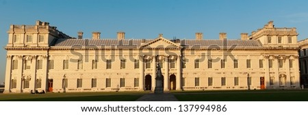 The National Maritime Museum in Greenwich - stock photo
