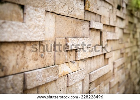 The new design of modern wall background - stock photo