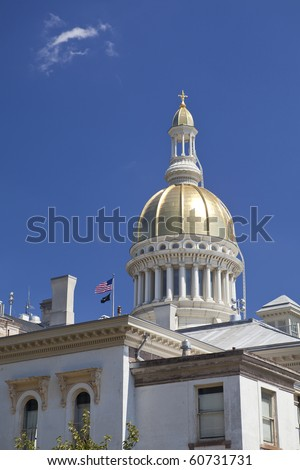 The New Jersey State House is located in Trenton. The building is home to the New Jersey Senate, General Assembly, as well as offices for the Governor of New Jersey, Lieutenant Governor of New Jersey.