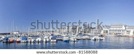 The New Marina, Helsingborg, Sweden. - stock photo