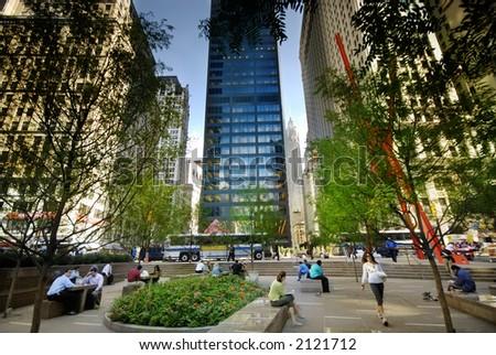 The New York - stock photo