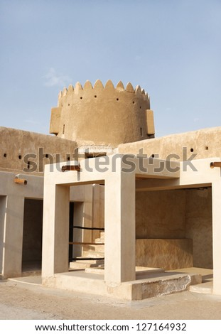 The Northern tower of Zubarah fort, Qatar